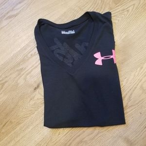 Under Armour Black Workout Tee